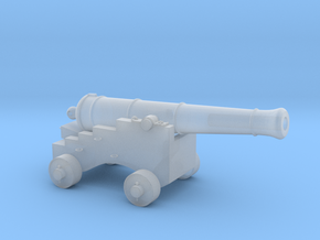 HO Scale Pirate Cannon in Smooth Fine Detail Plastic