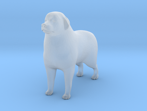 HO Scale Great Pyrenees in Smooth Fine Detail Plastic