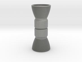 Custom Mini Engine Bells for BT-5 body tubes in Gray PA12