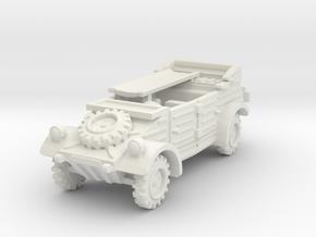 Kubelwagen Ambulance 1/64 in White Natural Versatile Plastic