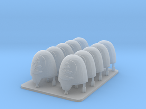 Cyber Samurai Bonsai Clan v10 Primus Smooth Should in Smooth Fine Detail Plastic