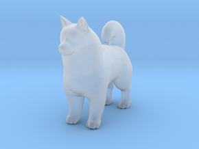 O Scale Samoyed in Smooth Fine Detail Plastic