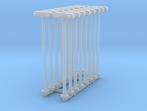 Double Street Lamp (x16) 1/285 in Smooth Fine Detail Plastic