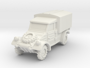 Kubelwagen Type 28 1/87 in White Natural Versatile Plastic