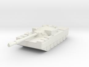 Chieftain Battletank Game Piece in White Natural Versatile Plastic