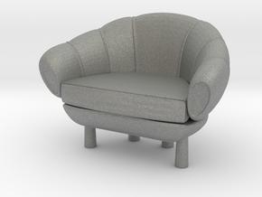 Miniature 1:12 Sofa in Gray PA12: 1:12