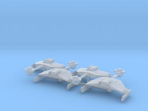 3788 Scale Klingon D5K War Cruiser Collection WEM in Smooth Fine Detail Plastic