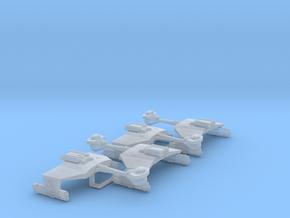 3125 Scale Klingon D5K War Cruiser Collection WEM in Smooth Fine Detail Plastic