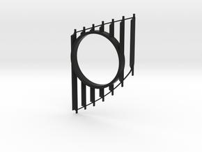 Seat Leon 5F (2013-2020) Gauge 52 mm Flaps Replace in Black Natural Versatile Plastic
