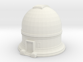 Observatory 1/144 in White Natural Versatile Plastic
