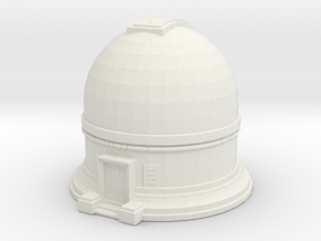 Observatory 1/220 in White Natural Versatile Plastic