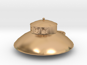 UFO in Polished Bronze