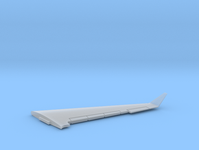 G550-144Scale-Detailed-03-Wing-right in Smooth Fine Detail Plastic