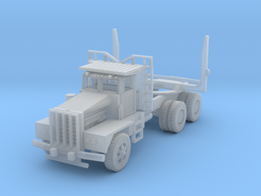 N scale Kenworth 850 (Logging Truck) in Smooth Fine Detail Plastic