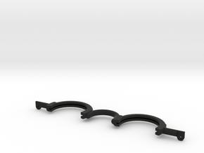 Trigun Sunglasses Frame (37mm lens) in Black Natural Versatile Plastic