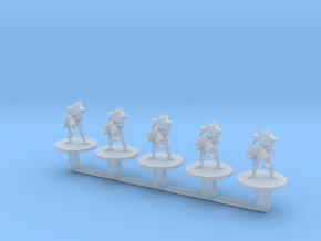 Space Skeleton Immortal 6mm Epic Infantry miniatur in Smooth Fine Detail Plastic