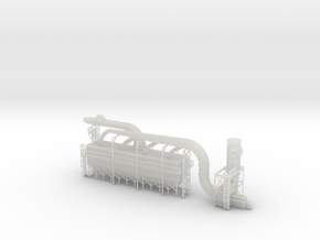 Industrial Dust Collection N Scale in Frosted Ultra Detail