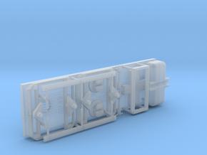 Type P, Umrüstsatz für Type M auf P mit 3 Achsen in Smoothest Fine Detail Plastic