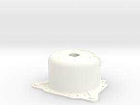 "1/8 Lenco 8.625"" Dp Bellhousing (No Starter Mnt) in White Strong & Flexible Polished"