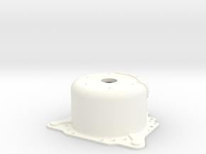 "1/8 Lenco 8.625"" Dp Bellhousing (No Starter Mnt) in White Strong & Flexible Polished"