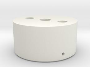Regional Manager - Heatsink Mount -  Part 4/4 in White Natural Versatile Plastic