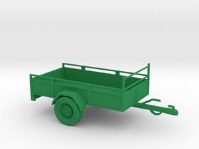 Anhänger Autoanhänger Trailer in Green Processed Versatile Plastic
