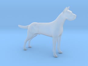 HO Scale Great Dane in Smooth Fine Detail Plastic