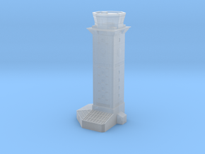 1:1250 Scale USAF Control Tower #3 in Smooth Fine Detail Plastic