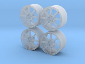 1/24 - 18'' Blitz BRW P08 - model wheel (male) in Smoothest Fine Detail Plastic
