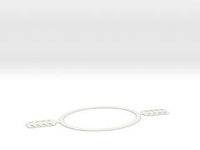 Mask head harness (small) in White Natural Versatile Plastic