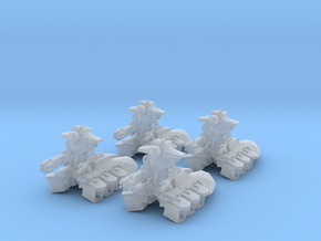 Space Skeleton Destroyer 6mm Epic Infantry models in Smooth Fine Detail Plastic
