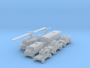 Terminator Resistance Vehicles 1/200 in Smooth Fine Detail Plastic