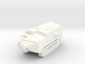 1/100 Schneider tank CA-1 in White Processed Versatile Plastic