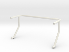Vanquish VS4-10 Origin Scout Roll Bar in White Natural Versatile Plastic