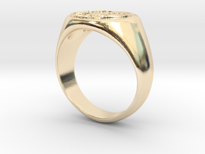 Size 7 Targaryen Ring in 14K Yellow Gold