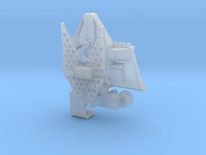 Rückeschild mit Forstwinde für Traktoren  in Smoothest Fine Detail Plastic