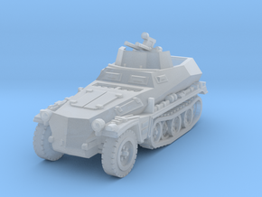 Sdkfz 250/4 A Anti Aircraft 1/220 in Smooth Fine Detail Plastic