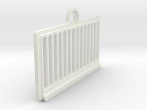 Airforce ePump maintenance hatch in White Natural Versatile Plastic