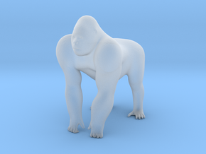 O Scale Gorilla in Smooth Fine Detail Plastic