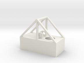 Base V1 in White Natural Versatile Plastic