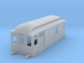 b148fs-district-railway-electric-loco in Smooth Fine Detail Plastic