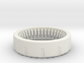 PSI - Board Retention Cap in White Natural Versatile Plastic