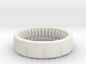 PSI - Board Retention Cap in White Natural Versatile Plastic