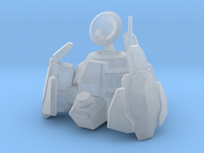 Terran Science Vessel in Smooth Fine Detail Plastic