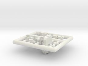 PM-01 Hydra in White Natural Versatile Plastic