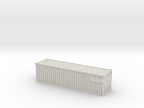 Container30ft  (N-scale) in Full Color Sandstone