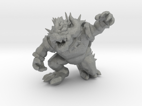 Giga Koopa kaiju monster miniature games 54mm rpg in Gray PA12