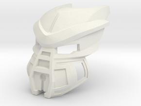 Kanohi Awai - Mask of Growth in White Natural Versatile Plastic