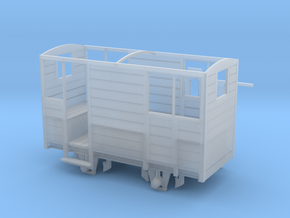 RNAD Brake Van - W&L 212 Rebuilt - 7mm scale in Smooth Fine Detail Plastic