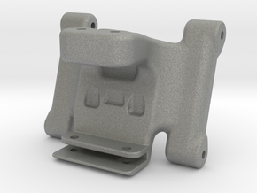 Associated B6 / B6D Wheelie Bar Mount V2 in Gray PA12